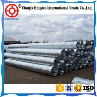 Wholesale Factory price big size stainless steel corrugated drainage Metal conduit for bridge to deliver water from china suppliers