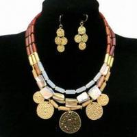 Wholesale Fashionable Necklace Set, Decorated with Shell and Alloy Part, Customized Packing Types are Accepted from china suppliers