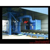 Wholesale Roller Type H Beam Sand Blasting Machines With 8 Shot Blaster And Dust Collection System from china suppliers