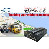 Wholesale 1TB SATA Hard Drive 4 Channel Car DVR , 3G H.264 DVR for Vehicles from china suppliers