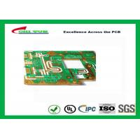 Wholesale Rogers 5880 material Quick Turn PCB Prototypes , White Silkscreen  PCB from china suppliers