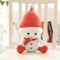 Wholesale Cute Santa Claus Christmas Stuffed Animals Machine Washable Lifelong CPC Certification from china suppliers