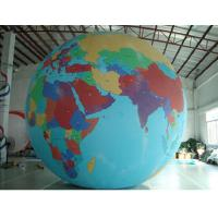 Wholesale Party Inflatable Advertising Products Big Led Earth Lighting Ball from china suppliers