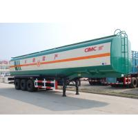 Wholesale 2017 new truck trailers heavy duty tri axle fuel oil tanks for sale from china suppliers