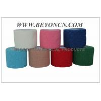 Wholesale Light Weight Cotton Breathable Latex free Bandage , Cohesive Support Bandage from china suppliers