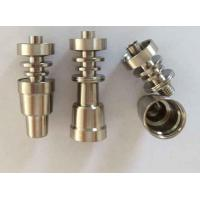 Wholesale Domeless Titanium Nails and Dabbers Grade 2 fit for flat heating coil from china suppliers