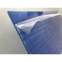 Wholesale Blue Polycarbonate Roofing Sheets Lexan / Makrolon Raw Material 6mm Thickness from china suppliers