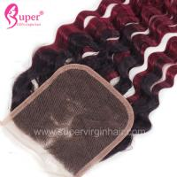 China 18 20 22 Inch Black To Red Blonde Ombre Hair Extensions Dye For Dark Hair for sale