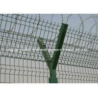 Wholesale High Security Invisible Razor Blade Wire Fencing / 	Airport Security Fencing For Perimeter Decoration from china suppliers