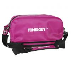 China Customized Pink Nylon PVC Hairdresser Tool Belt Salon Tool Bag on sale