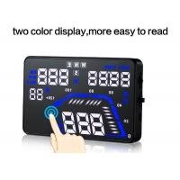 Wholesale Two Color gps heads up display Cruise control speed bluetooth hud from china suppliers