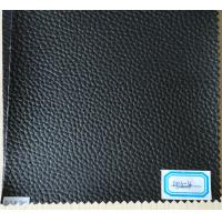 Wholesale PU Synthetic Leather Sofa Material Thickness 0.8mm Black Color from china suppliers