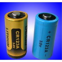 China CR123A Lithium battery on sale