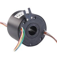 Wholesale LPT025 Through Bore Slip Ring With Through Hole 25.4mm 380V Precious Metal Material Used For Medical Equipment from china suppliers