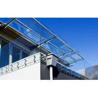 Wholesale Deck railing designs with Stainless Steel glass standoff decorative porch railing from china suppliers