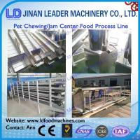 Wholesale Stainless steel dog chewing food processing line animal food machine from china suppliers