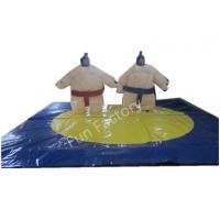 Wholesale Blue Inflatable Figures Inflatable Sumo Suits Sports Playground from china suppliers