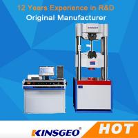 Wholesale Imported Load Cell Universal Tensile Testing Machine with Controller with Computer control from china suppliers