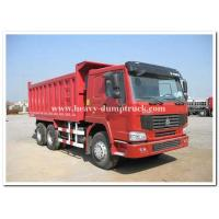 Wholesale 336 HP heavy duty dump truck sand tipper truck middle lifting type 15 m3 tank body from china suppliers