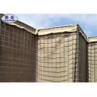China Military Sand Filled Barriers / Gabion Defence Barriers 3 Years Warranty for sale