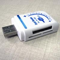 Wholesale 480mbps usb card reader mobile phone accessories support SD, MMC,RS-MMC, Mini SD from china suppliers