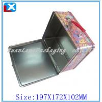 Wholesale metal lunch tin box with lock from china suppliers