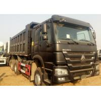 China 40 Ton 6x4 336hp SInotruk Howo7 Heavy Duty Dump Truck 20M3 Black Color for sale