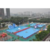 Wholesale EN71 Outside Square Metal Frame Pool , Metal Frame Wading Pool For Adults from china suppliers