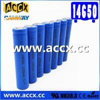 Quality cordless telephone battery ICR14650 3.7V 1050mAh li-ion batteries 14650, 14500, for sale