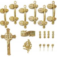 Wholesale Casket Handle Coffin Fitting S9004 , Coffin Lid Screw And Casket Cross from china suppliers