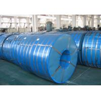 China 750mm - 1250mm Zinc Coated Spangle Hot Dipped Galvanized Steel Coils on sale
