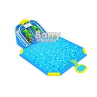 Wholesale Giant Outdoor Inflatable Playground , Jungle Inflatable Amusement Park With Printing from china suppliers