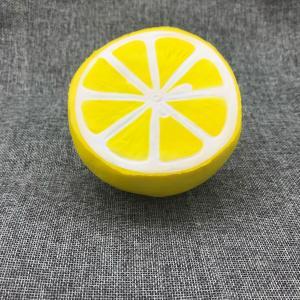 Wholesale PU Fruit Shape Slow Rising Toy Fruit Jumbo Squishies Toy Scented Kit Fruit Apple Banana Lemon Orange Peach Jumbo from china suppliers