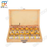 Wholesale High Performance 8 MM Classic Router Bit Set Most Uses able In 12 Shapes Rotary Tool  from BMR TOOLS from china suppliers