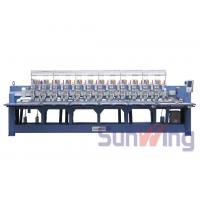 Quality Cording / Tapping Mixed Computerized Embroidery Machines For Bedding for sale