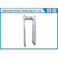 China Light Weight Walk Through Metal Detector Adjustable Volume Control  With CCTV Camera on sale