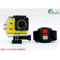 Quality Mini 900mAh USB2.0  4k Sports Action Camera 2.0 Inch For 30M Underwater for sale