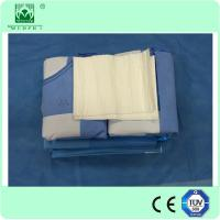 Buy cheap High quality disposable nonwoven EO sterilize Hip surgical drape pack/kits from Wholesalers
