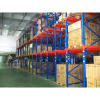 Wholesale Distribution Center Drive Through Racking System , High Capacity Selective Multi Tier Shelving from china suppliers