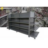 Wholesale Large Capacity Supermarket Rack Systems , Cosmetic Steel Gondola Shelving from china suppliers