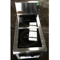 Wholesale 2.4Kw Commcercial Induction Cooker 2 Zone , Commercial Induction Hob from china suppliers