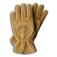 Buy cheap Printed split leather safety garden gloves ZMR210 from wholesalers