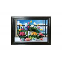 China Water - Proof Flower Home Decor Picture 3D Lenticular Photography on sale