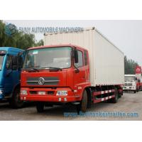Wholesale 8 - 15 Ton Dongfeng Kingrun Refrigerator Van Truck 4x2 Cummins Engine 170 Hp from china suppliers