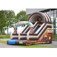 Wholesale Full Print Attraction Playground Professional Commercial Inflatable Slide For Kids Playing from china suppliers