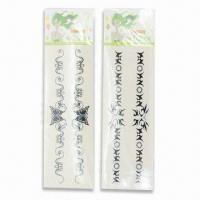 Wholesale Tattoo Stickers, Various Sizes and Designs are Available, Increases Hand Brightness from china suppliers