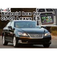 Wholesale Lexus ES240 ES350 2005-2009 Android Navigation Box mirror link video interface rear view from china suppliers