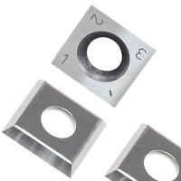 Wholesale RTing 14mm Square Carbide Inserts Cutter for Wood Working & Turning,(14mm lengthX14mm widthX2.0 thick),Pack of 10 from china suppliers