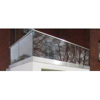 Wholesale Lamimated Glass Panel Roof Railing Price/ Floor Mount U Channel Glass Railing from china suppliers