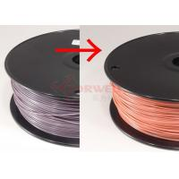Wholesale 1.75 MM Color Changing Plastic Filament PLA For 3D Printer , Purple To Pink from china suppliers